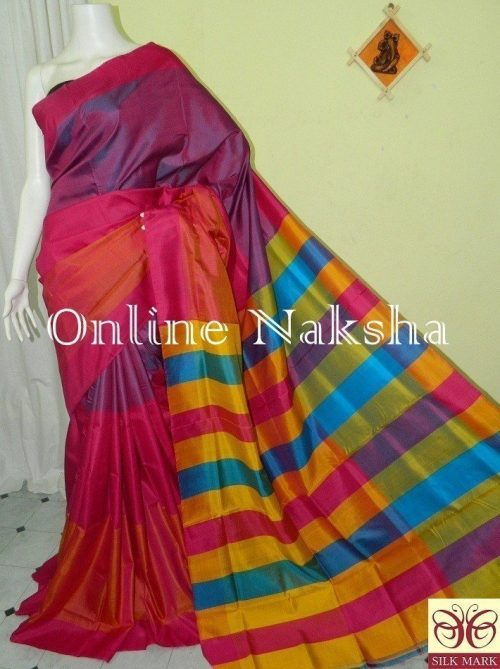 3D Silk Saree