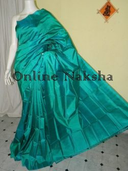 Pure Silk Plain Saree