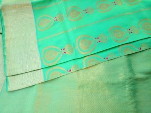 Contemporary Swarnachari Saree Online