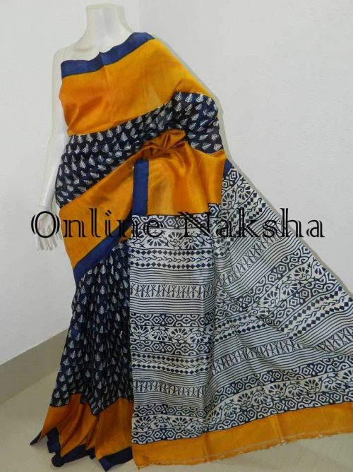 Printed Pure Silk Sarees