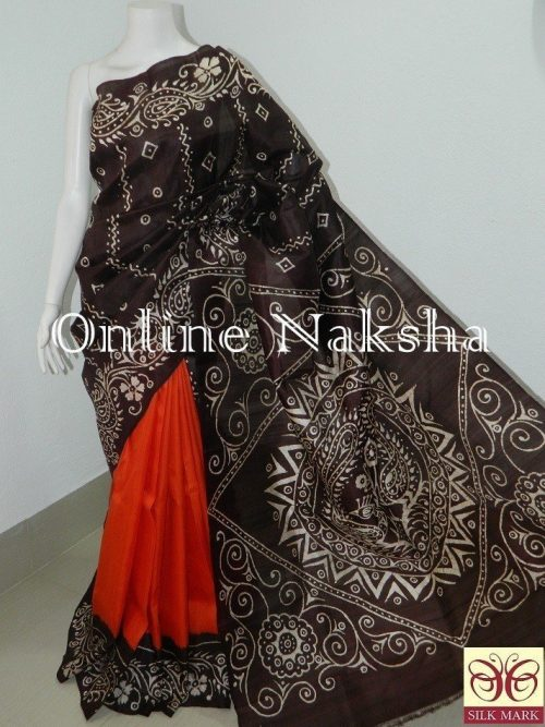 Batik Printed Saree