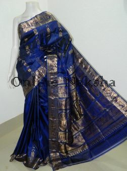 Navy Blue Swarnachari