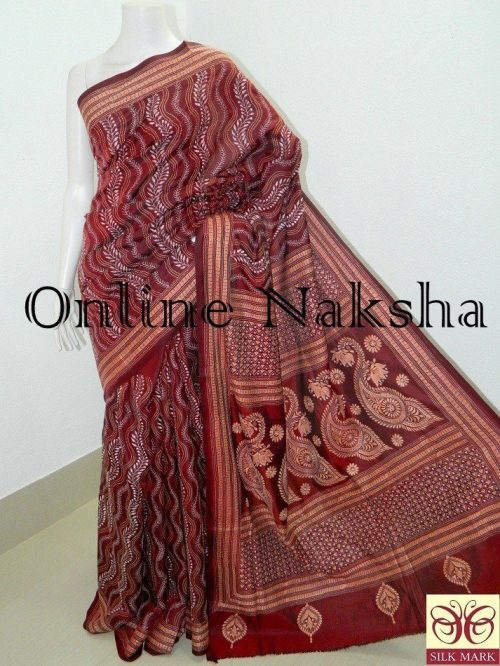 Exclusive Kantha Stitch Saree