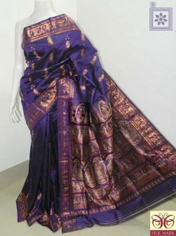 Purple Bridal Sournchari Saree