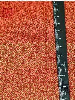 Red Designer Blouse Cotton Fabric Online