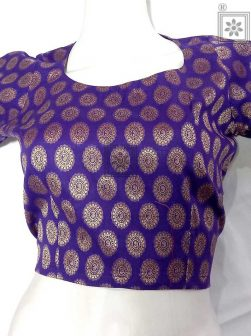 Designer Cotton Readymade Blouse