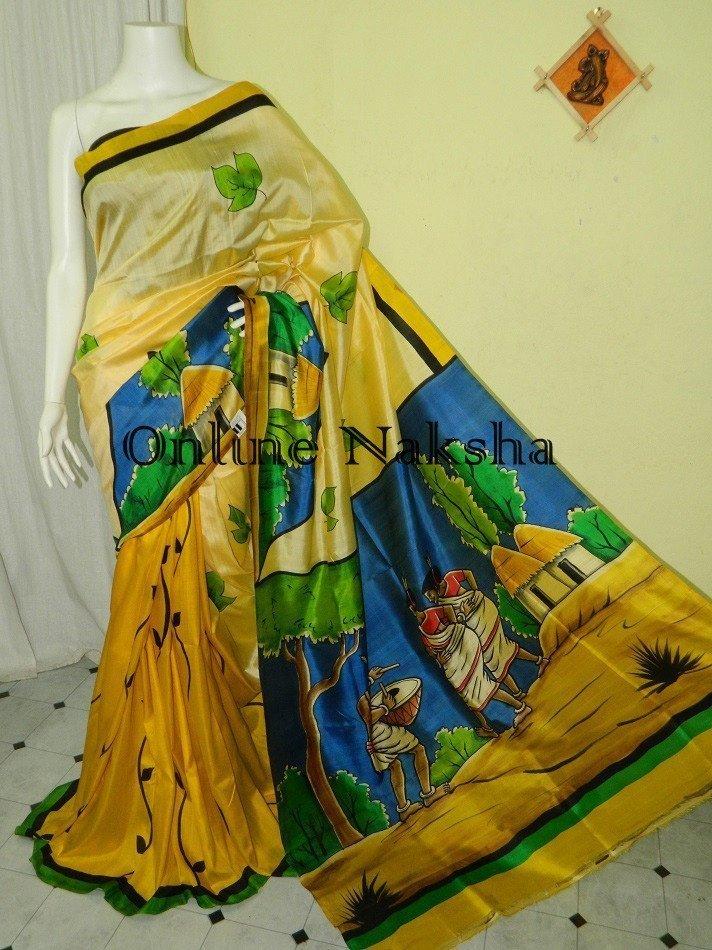 Sonamukhi Silk Saree