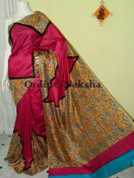 Printed Sonamukhi Silk