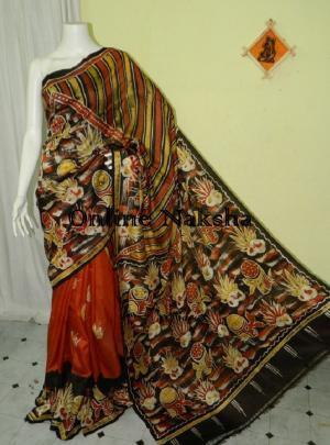 Bishnupuri Batik Silk