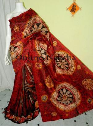Hand Batik Silk