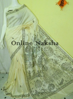 Patachitra Silk Saree