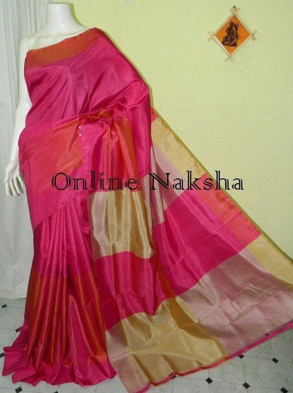 Mayurkanthi 3D Silk Saree