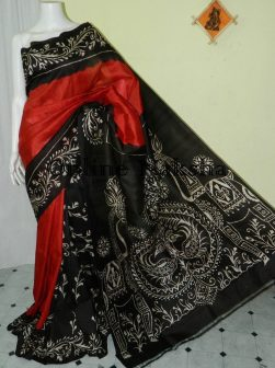 Handpainted Batik Silk