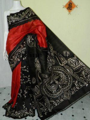 Handpainted Batik Silk