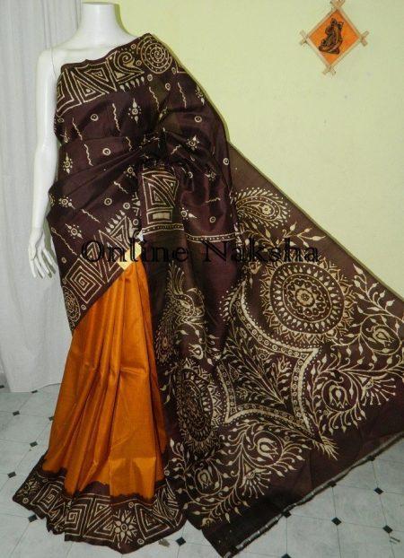 Batik Sonamukhi Silk