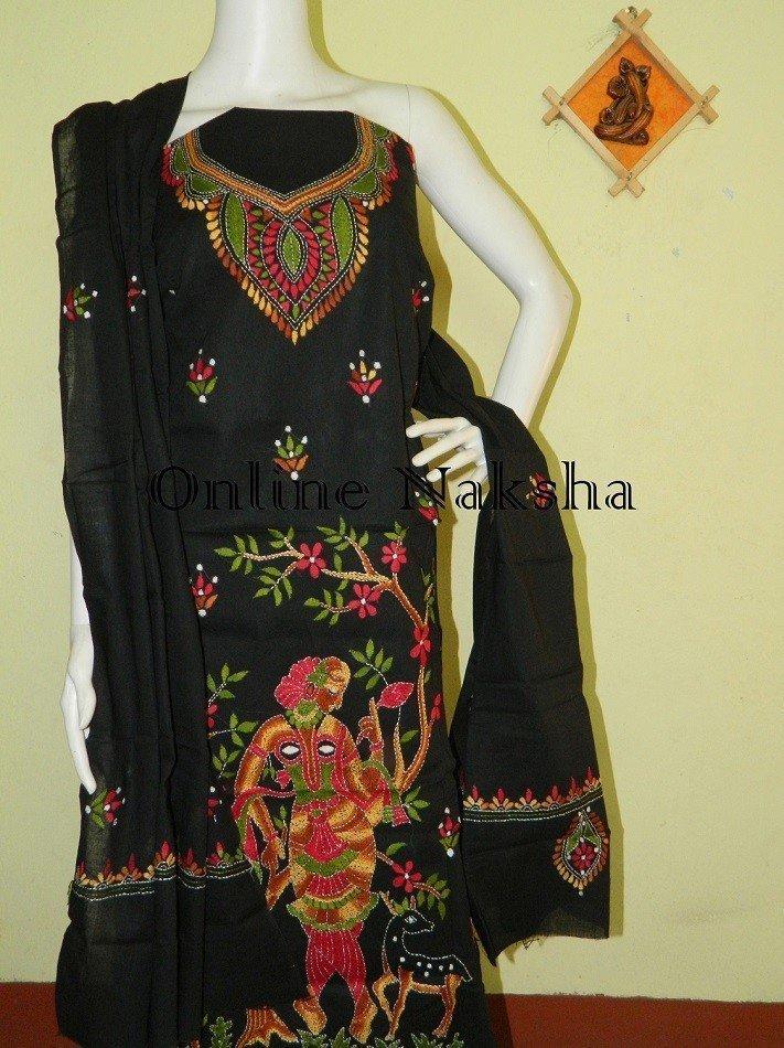 Kantha Stitch Salawar