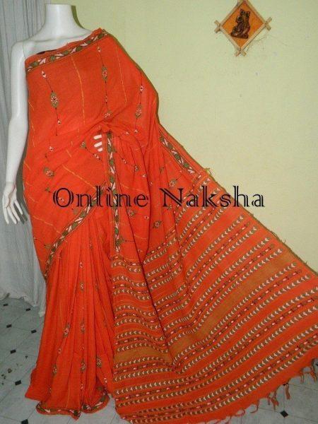 Cotton Kantha Stitch