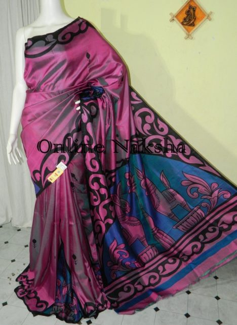 Handpainted Pure Silk
