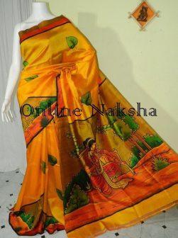 Modern Pure Silk Sari