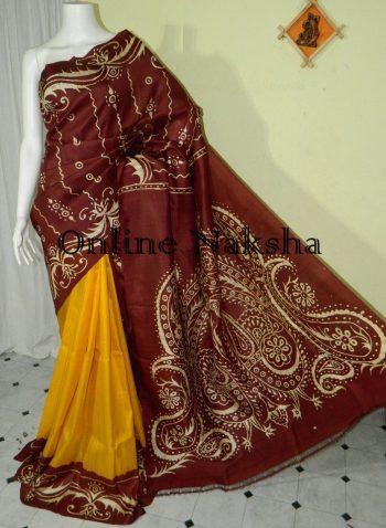 Batik Handpainted Silk