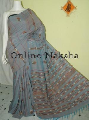 Cotton Kantha Saree