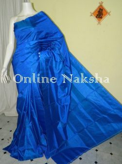 Royal Blue Silk