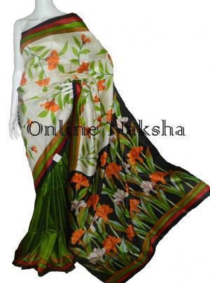 Pure Silk Sari