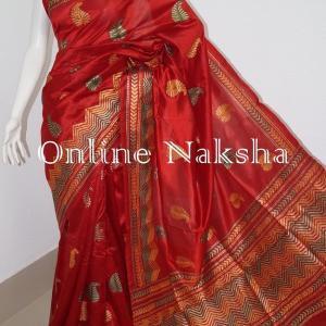 3225 Gorgeous Aari Stitch Saree