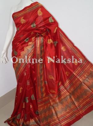 Aari Stitch Saree