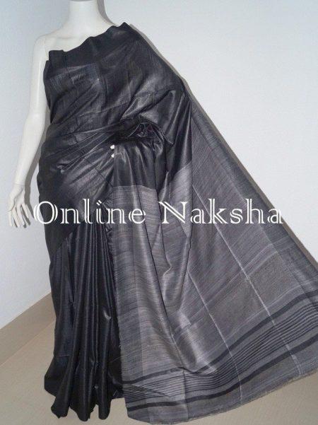 Ghicha Tussar Sari
