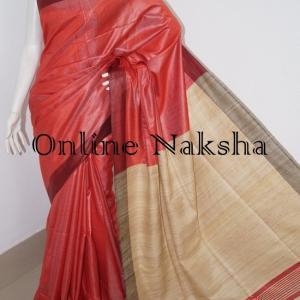 3240 Ghicha Tussar Silk Saree