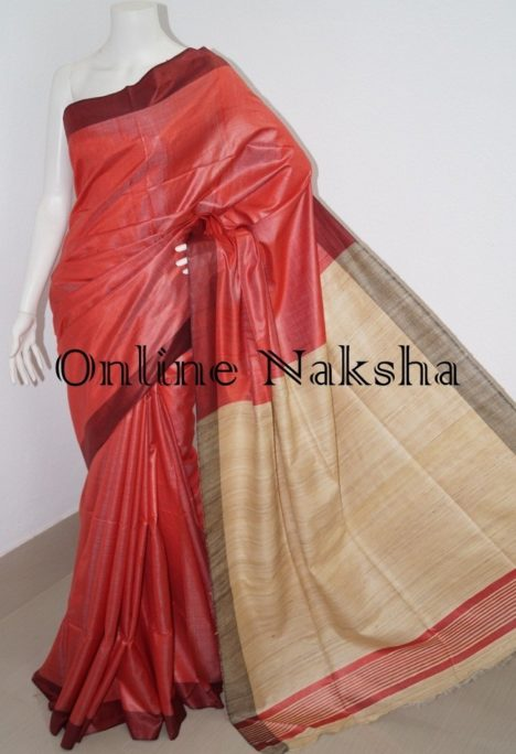 Ghicha Tussar Silk