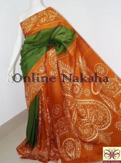 Batik Silk Sari