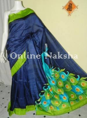 Peacock Silk