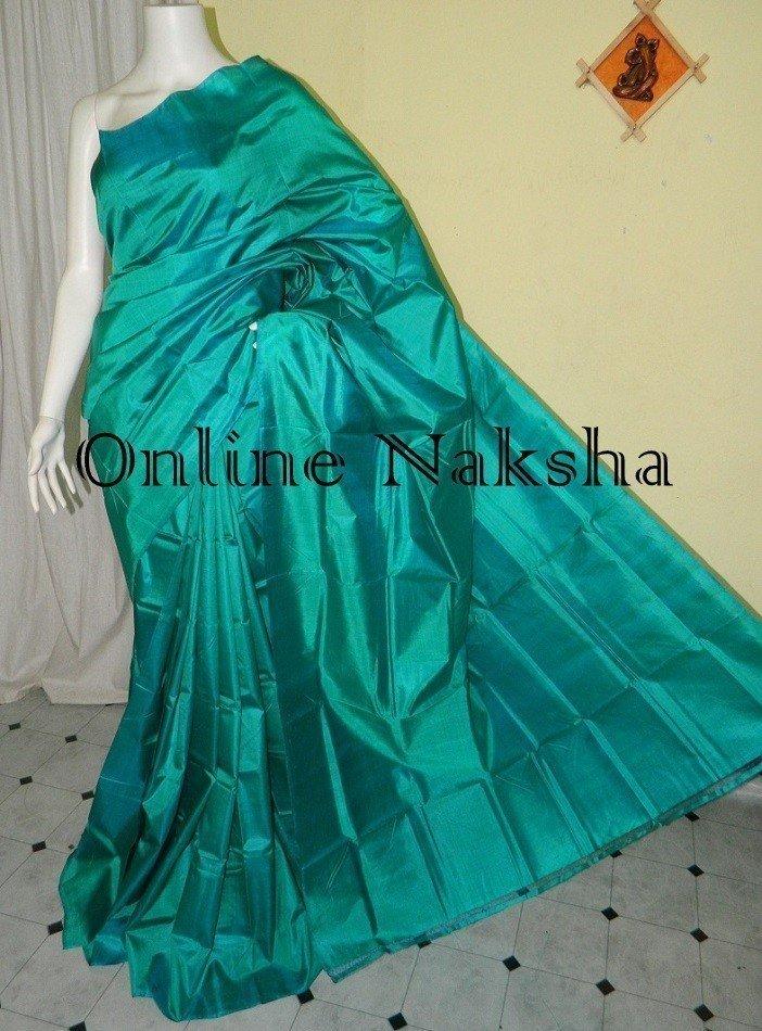 Pure Silk Plain Saree