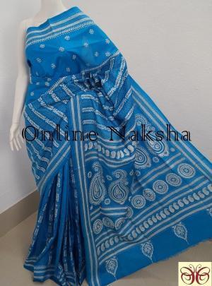 Kantha Stitch Pure Silk