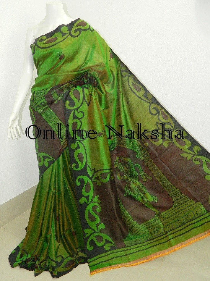 Handpainted Pure Silk