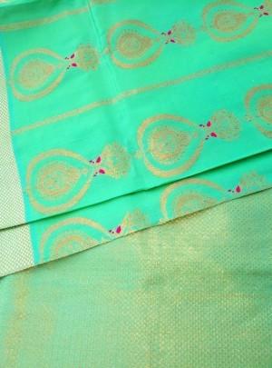 3206 Bridal Swarnachari Saree Online