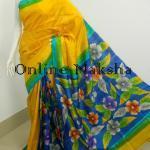 Floral Silk Saree