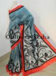 Acid Paint Silk Saree