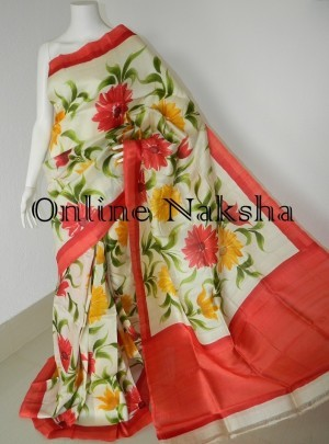 Online Painted Silk