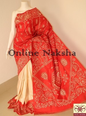 Traditional Batik Saree