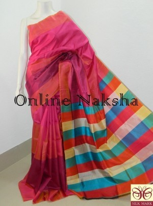 Mulberry Pure Silk Sarees