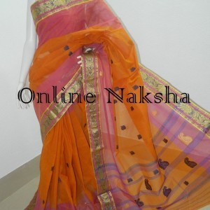3661 Handloom Tant Sari Online
