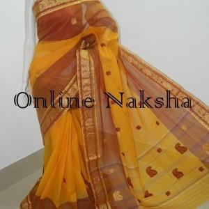 3662 Bengal Tant Saree Online
