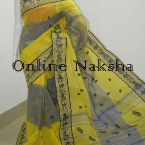 3663 Bengal Handloom Cotton Saree