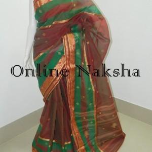 3665 Latest Bengal Tant Saree