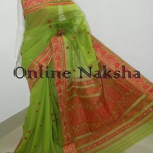 3684 Latest Cotton Baluchari Saree