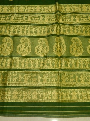 Cotton Baluchari Saree
