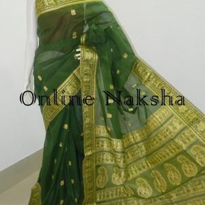 3685 Online Cotton Baluchari Saree